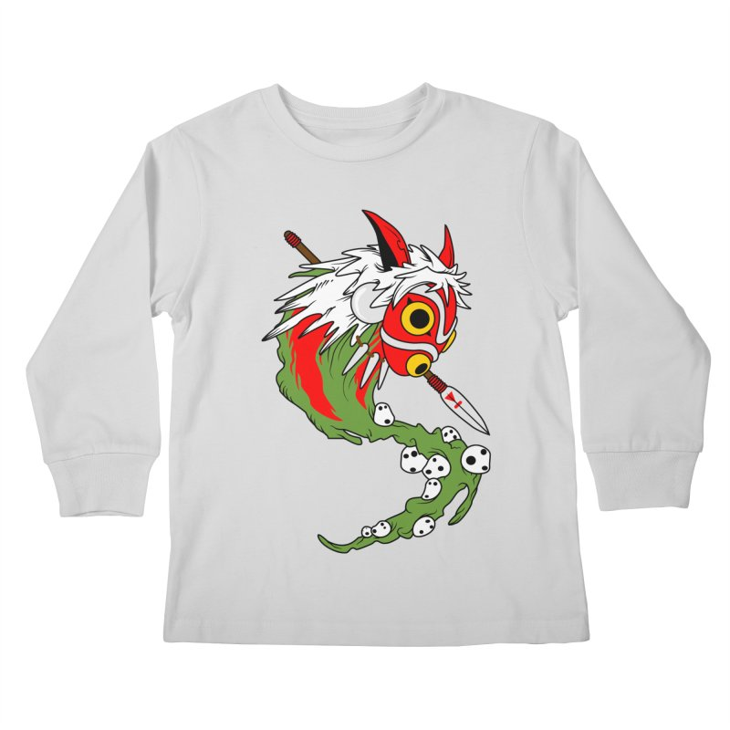 Mononoke Kids Longsleeve T-Shirt by emodistcreates's Artist Shop