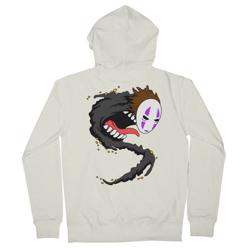 Noface Women's French Terry Zip-Up Hoody by emodistcreates's Artist Shop