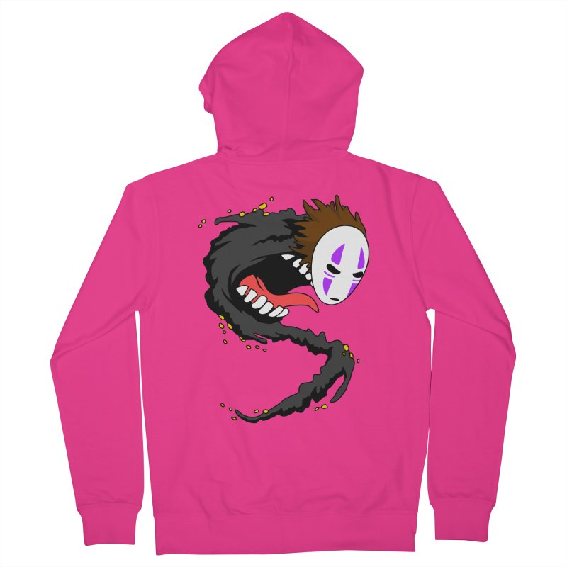 Noface Men's French Terry Zip-Up Hoody by emodistcreates's Artist Shop