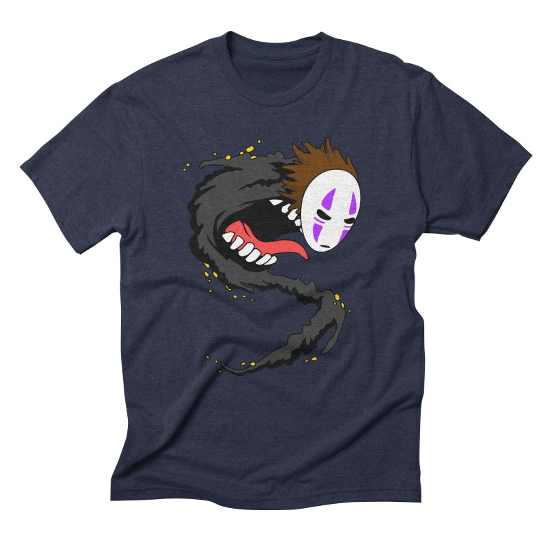 Noface Men's Triblend T-Shirt by emodistcreates's Artist Shop