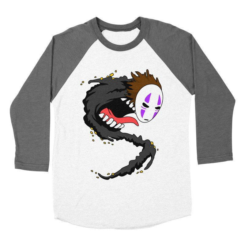 Noface Women's Baseball Triblend Longsleeve T-Shirt by emodistcreates's Artist Shop