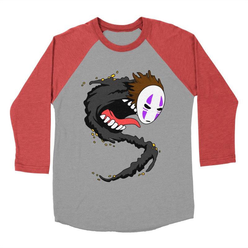 Noface Men's Baseball Triblend T-Shirt by emodistcreates's Artist Shop