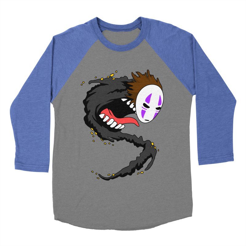 Noface Men's Baseball Triblend Longsleeve T-Shirt by emodistcreates's Artist Shop