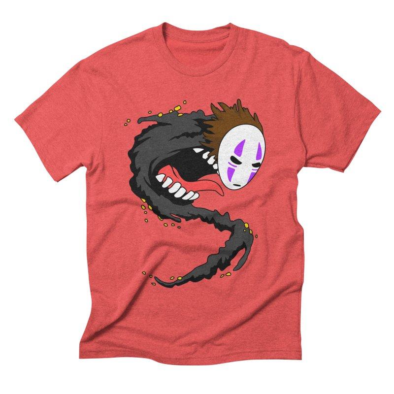 Noface Men's Triblend T-shirt by emodistcreates's Artist Shop