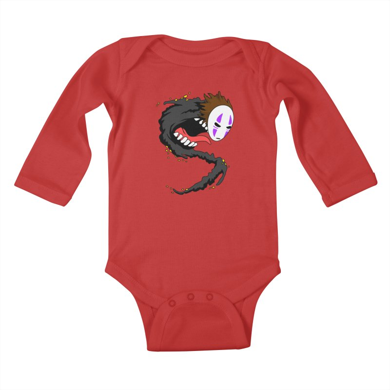 Noface Kids Baby Longsleeve Bodysuit by emodistcreates's Artist Shop