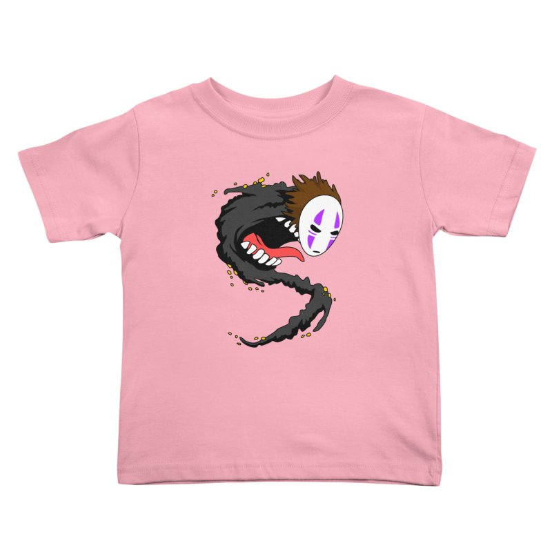 Noface Kids Toddler T-Shirt by emodistcreates's Artist Shop