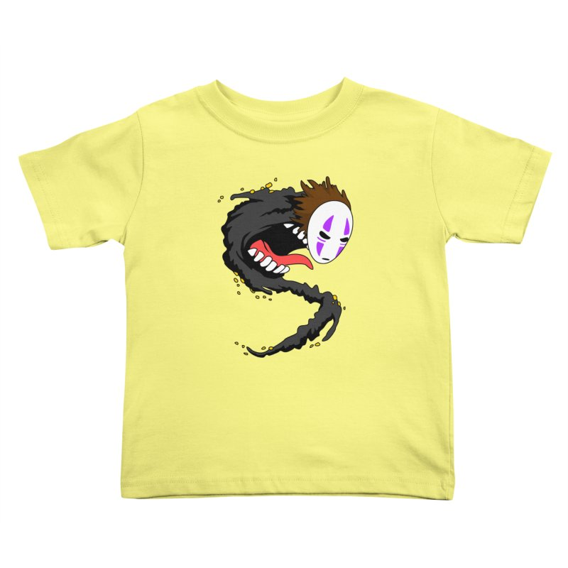 Noface Kids Toddler T-Shirt by emodistcreates's Artist Shop