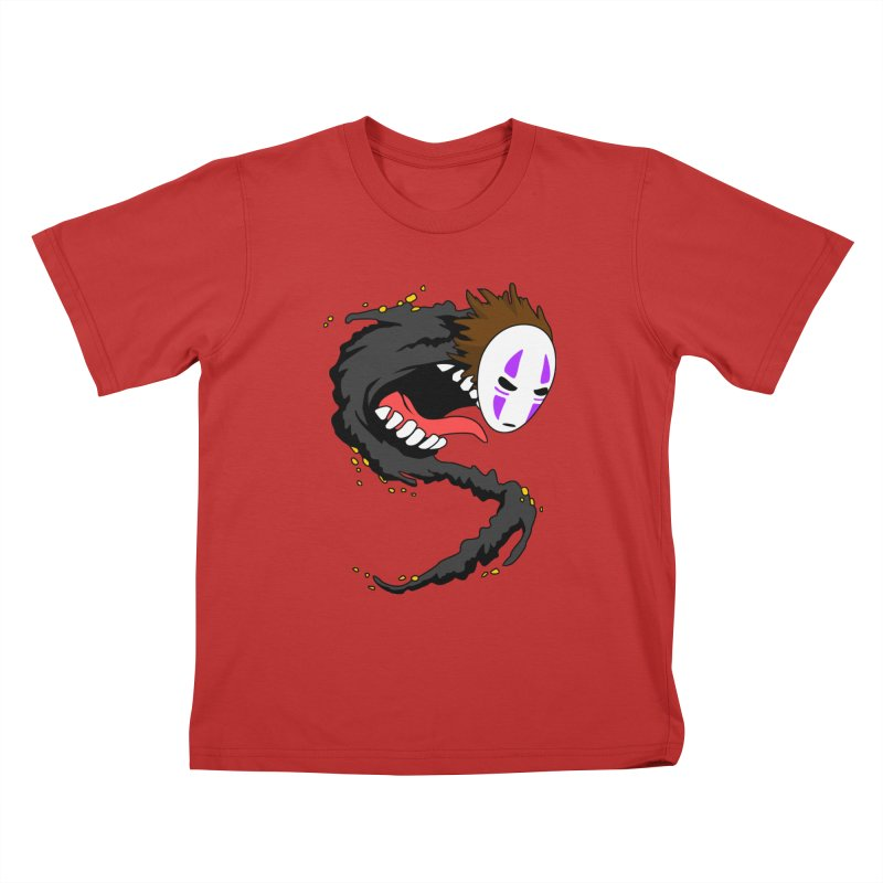 Noface Kids T-Shirt by emodistcreates's Artist Shop