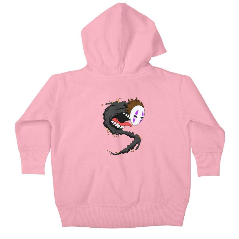 Noface Kids Baby Zip-Up Hoody by emodistcreates's Artist Shop