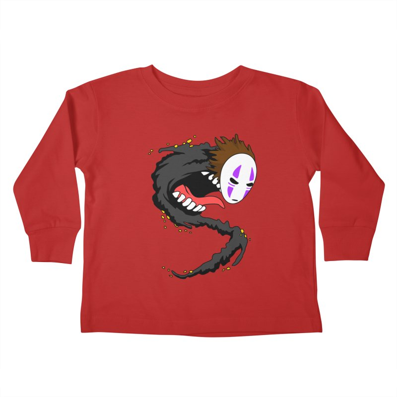Noface Kids Toddler Longsleeve T-Shirt by emodistcreates's Artist Shop