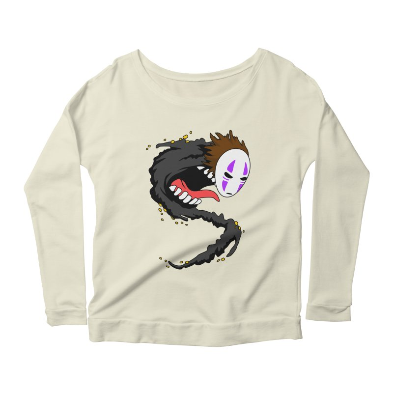 Noface Women's Scoop Neck Longsleeve T-Shirt by emodistcreates's Artist Shop
