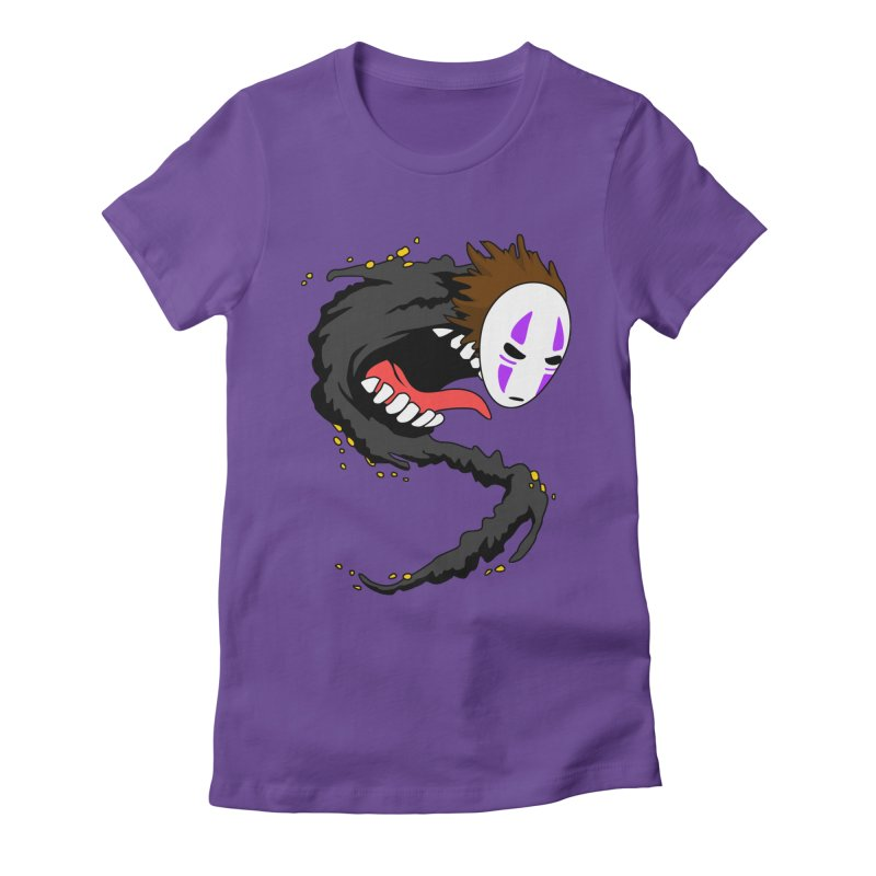 Noface Women's Fitted T-Shirt by emodistcreates's Artist Shop
