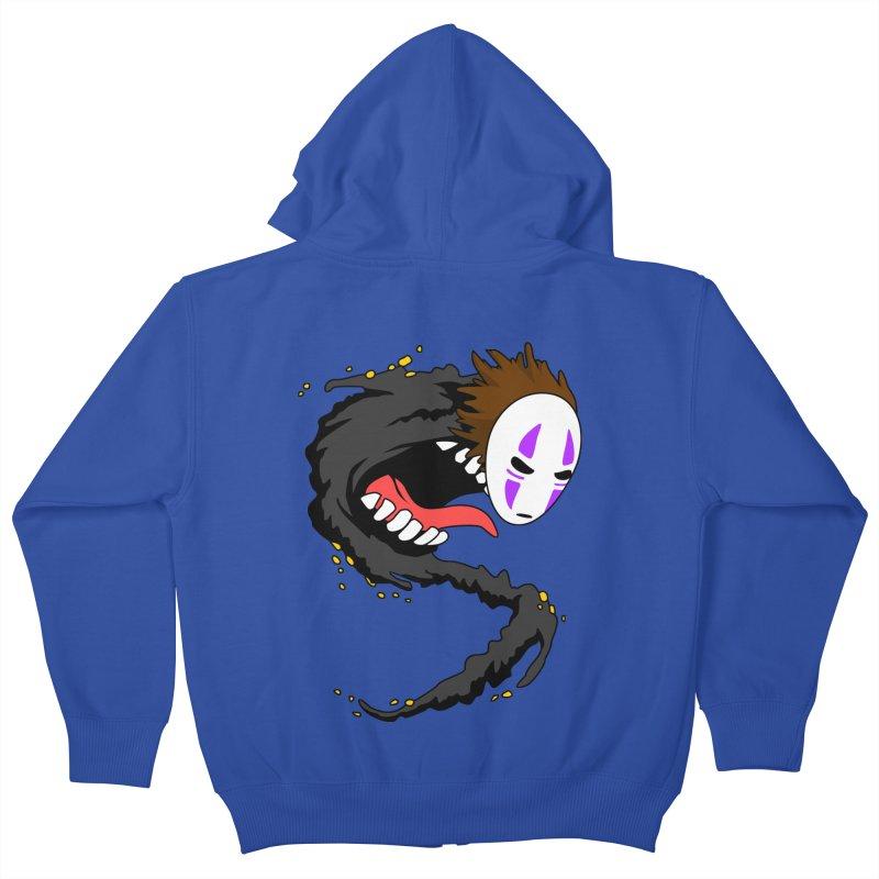 Noface Kids Zip-Up Hoody by emodistcreates's Artist Shop
