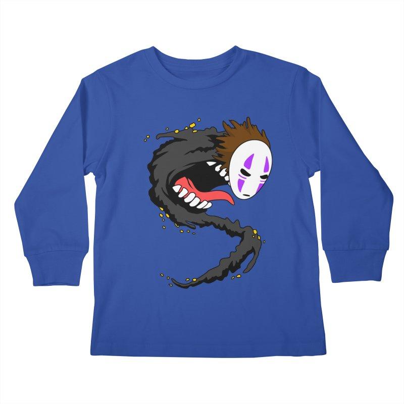 Noface Kids Longsleeve T-Shirt by emodistcreates's Artist Shop