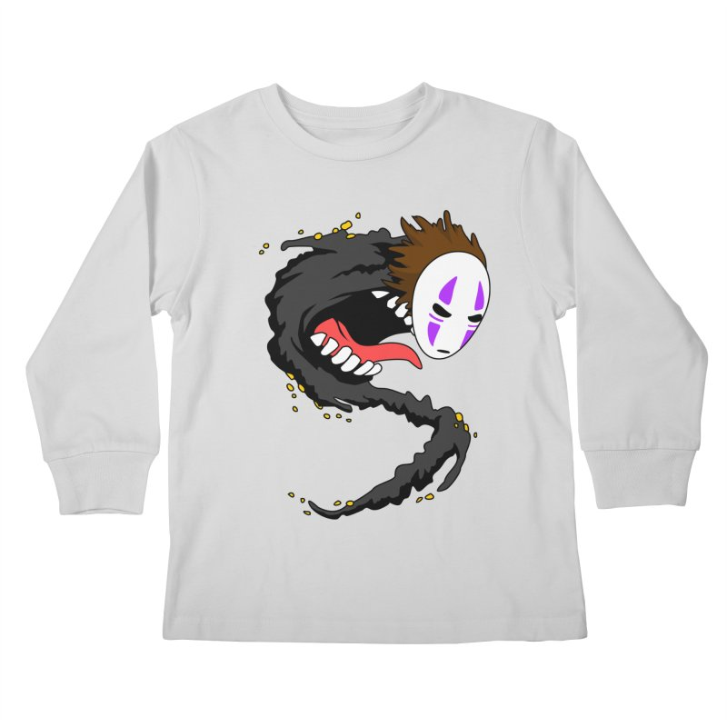 Noface Kids Longsleeve T-Shirt by emodistcreates's Artist Shop