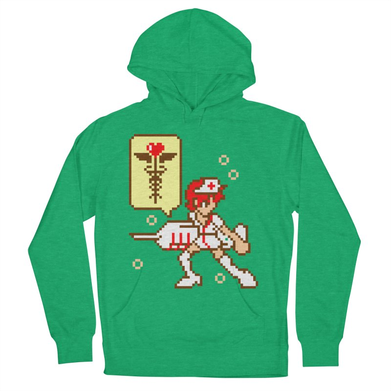 Nurse Call Women's French Terry Pullover Hoody by emodistcreates's Artist Shop