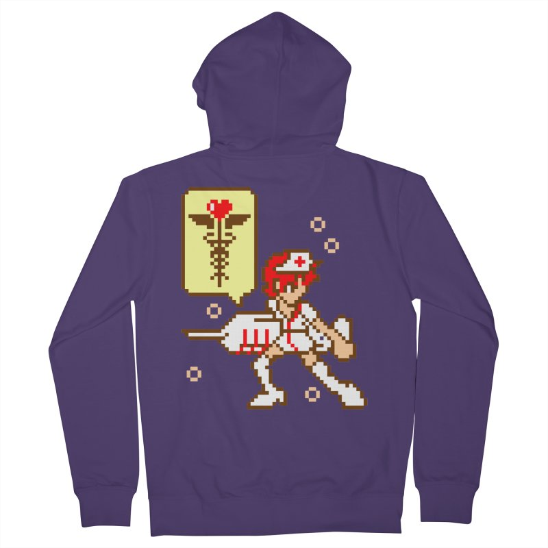 Nurse Call Women's French Terry Zip-Up Hoody by emodistcreates's Artist Shop
