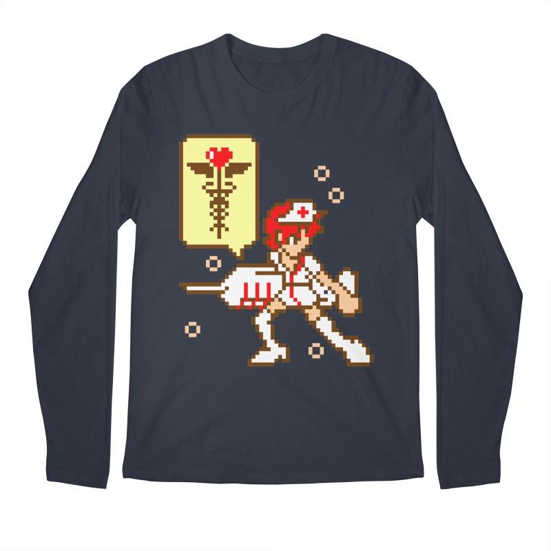 Nurse Call Men's Regular Longsleeve T-Shirt by emodistcreates's Artist Shop