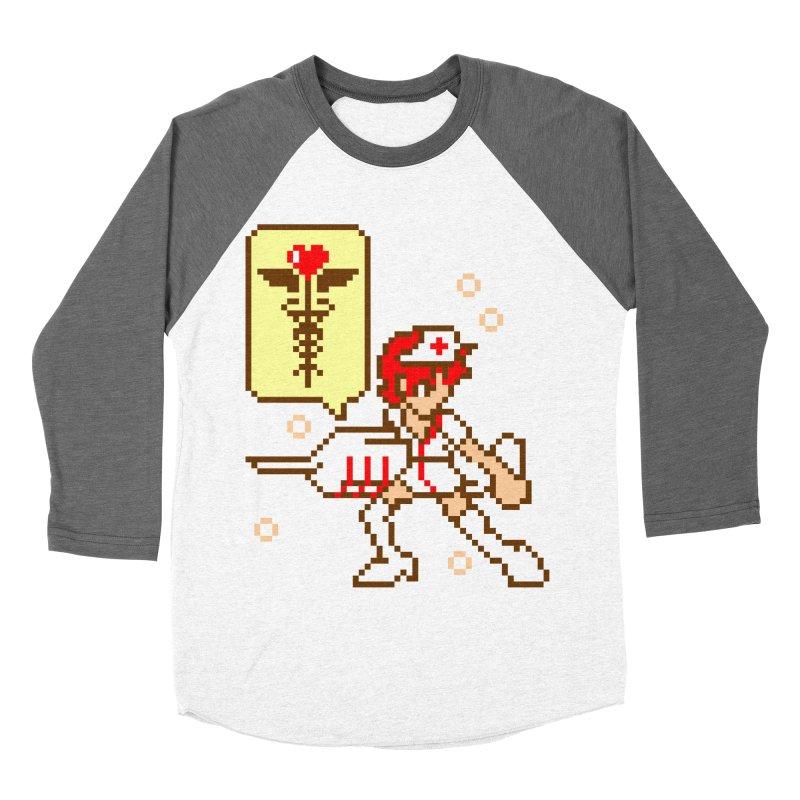 Nurse Call Women's Baseball Triblend Longsleeve T-Shirt by emodistcreates's Artist Shop