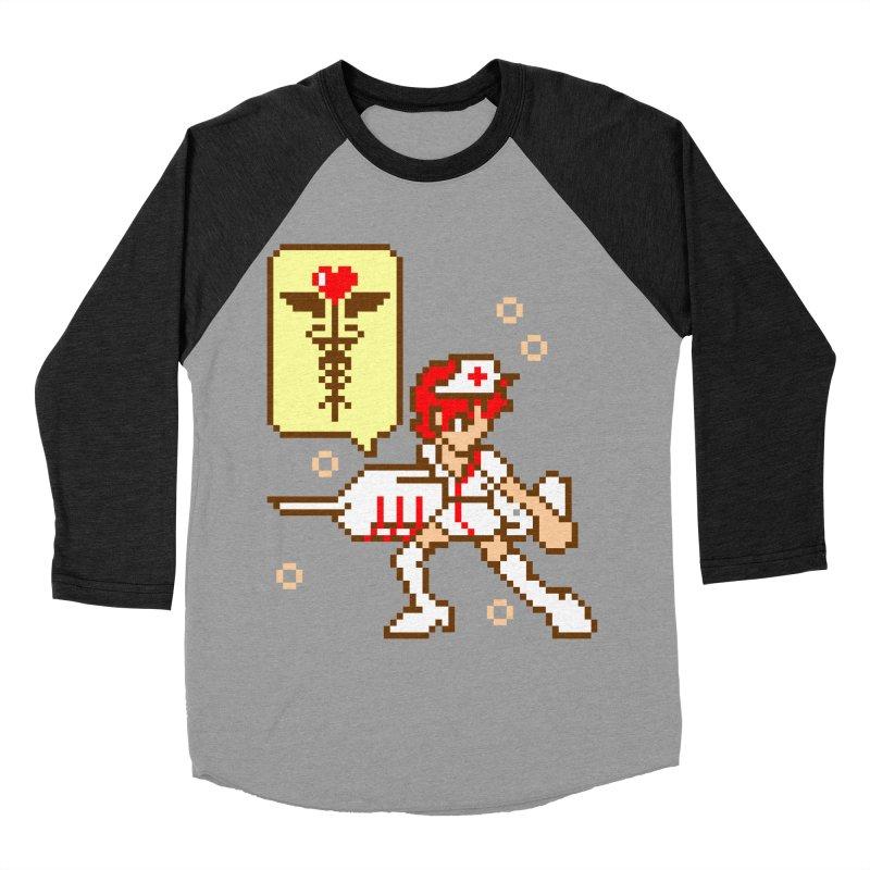 Nurse Call Men's Baseball Triblend Longsleeve T-Shirt by emodistcreates's Artist Shop
