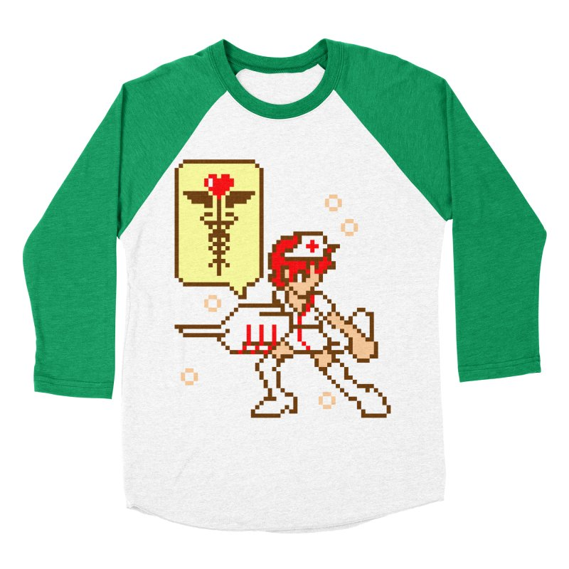 Nurse Call Men's Baseball Triblend T-Shirt by emodistcreates's Artist Shop