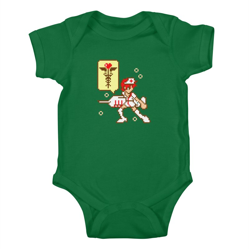 Nurse Call Kids Baby Bodysuit by emodistcreates's Artist Shop