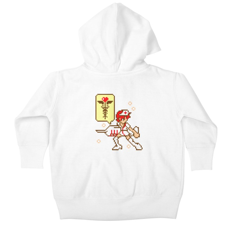 Nurse Call Kids Baby Zip-Up Hoody by emodistcreates's Artist Shop