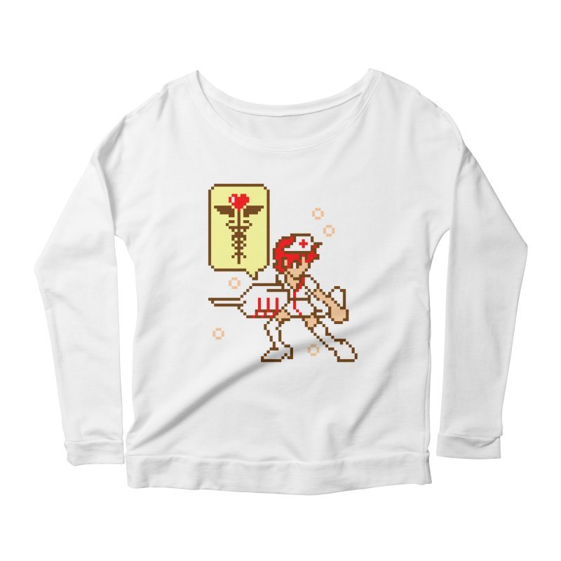 Nurse Call Women's Scoop Neck Longsleeve T-Shirt by emodistcreates's Artist Shop