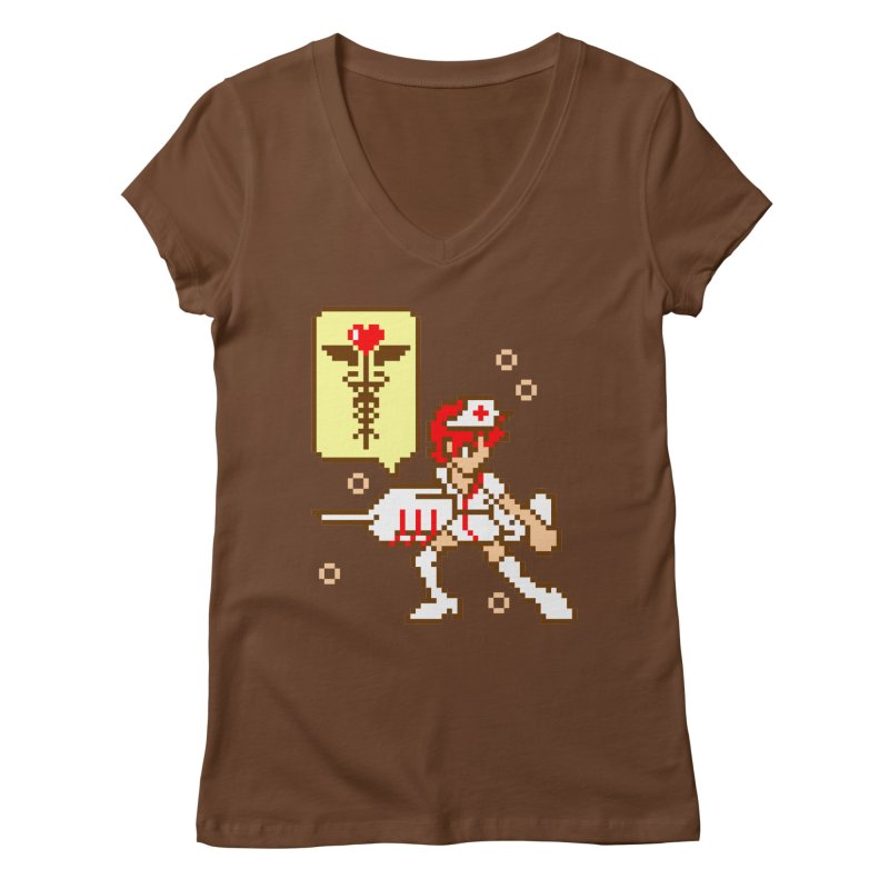 Nurse Call Women's V-Neck by emodistcreates's Artist Shop