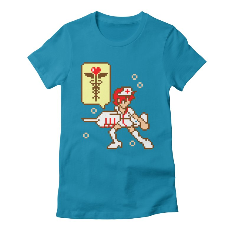Nurse Call Women's Fitted T-Shirt by emodistcreates's Artist Shop