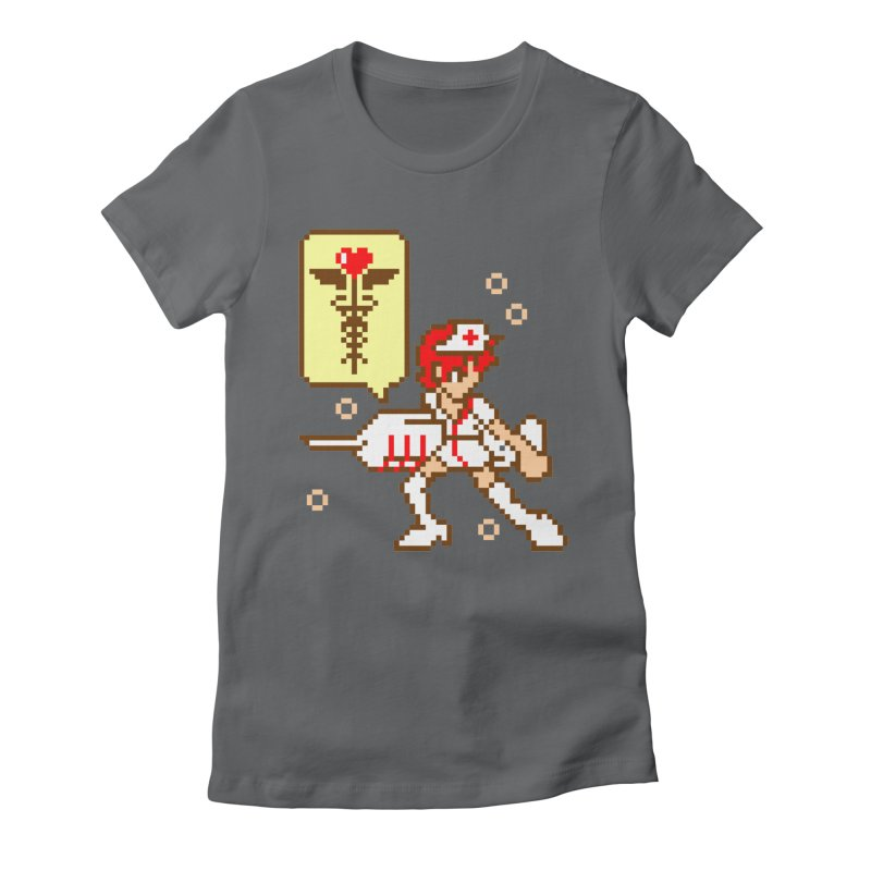 Nurse Call Women's Fitted T-Shirt by emodistcreates's Artist Shop