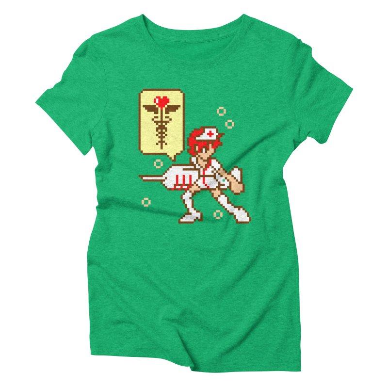 Nurse Call Women's Triblend T-Shirt by emodistcreates's Artist Shop