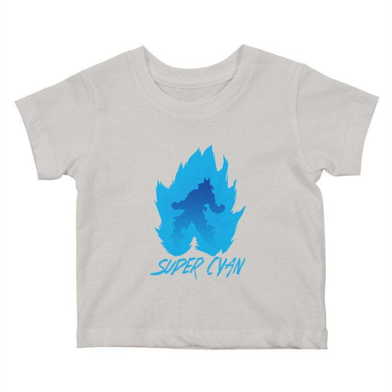 Super Cyan Kids Baby T-Shirt by emodistcreates's Artist Shop