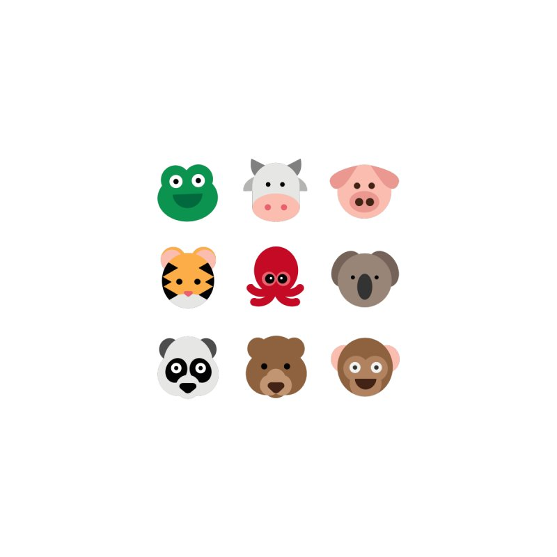 Animals by emoji's Artist Shop