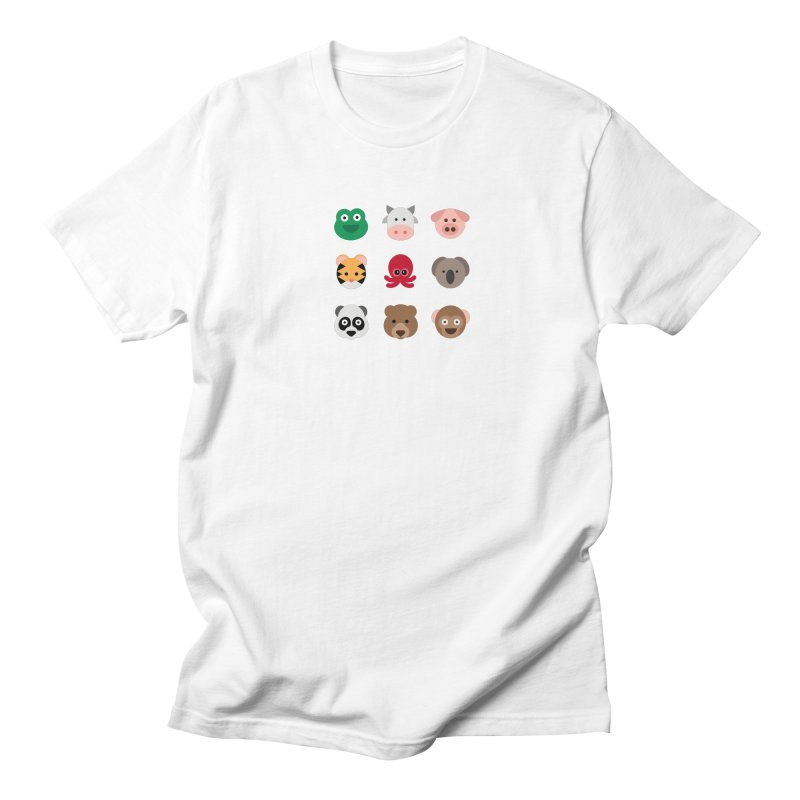 Animals Men's Regular T-Shirt by emoji's Artist Shop
