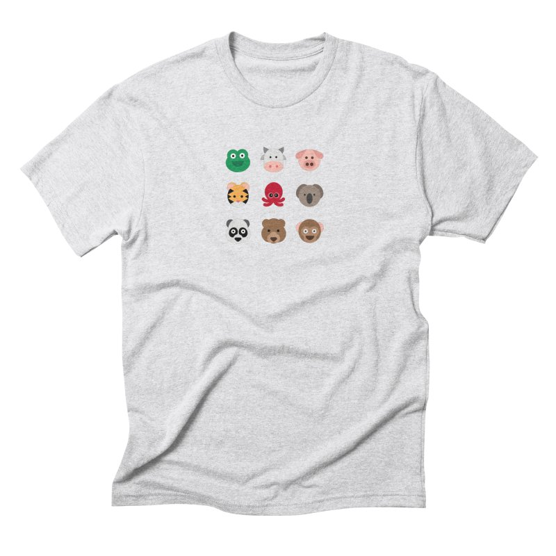 Animals Men's Triblend T-Shirt by emoji's Artist Shop