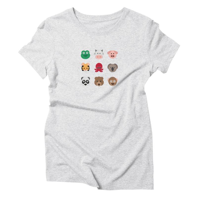 Animals Women's T-Shirt by emoji's Artist Shop