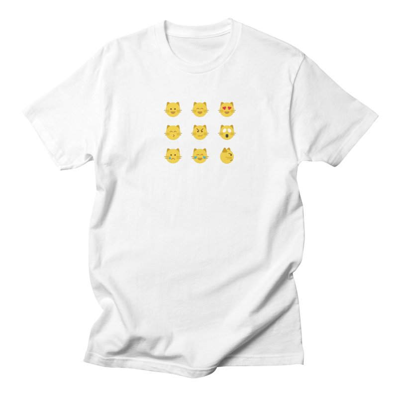Cats Men's Regular T-Shirt by emoji's Artist Shop