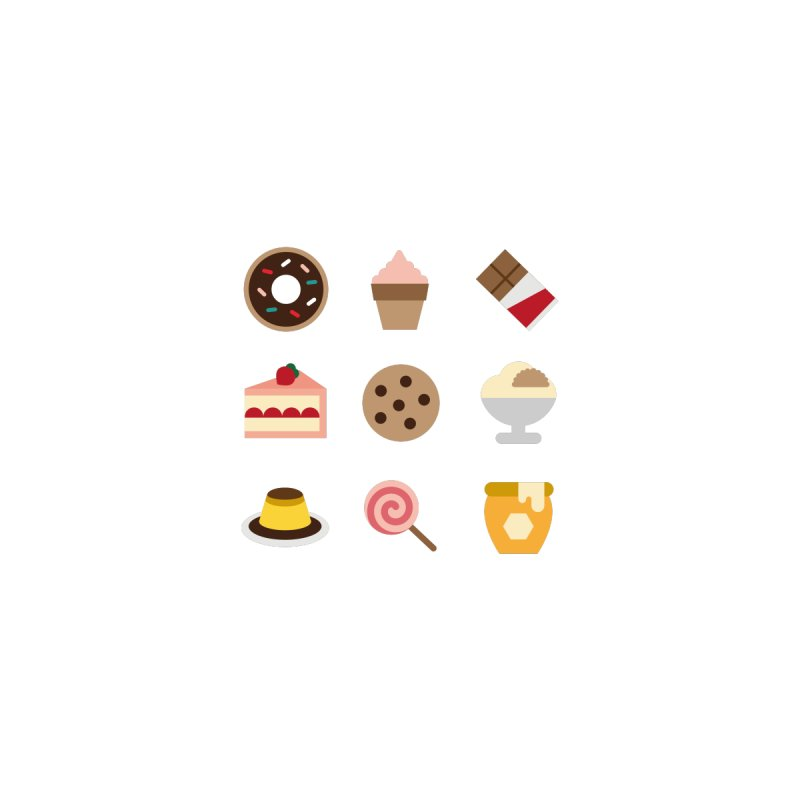I'm So Sweet None  by emoji's Artist Shop