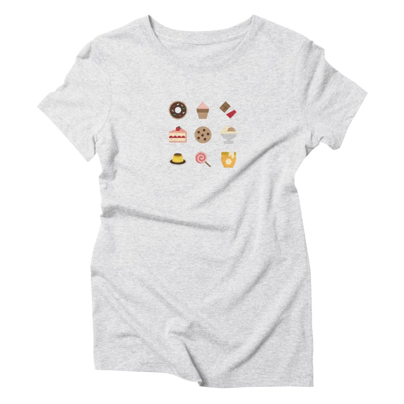 I'm So Sweet Women's Triblend T-Shirt by emoji's Artist Shop