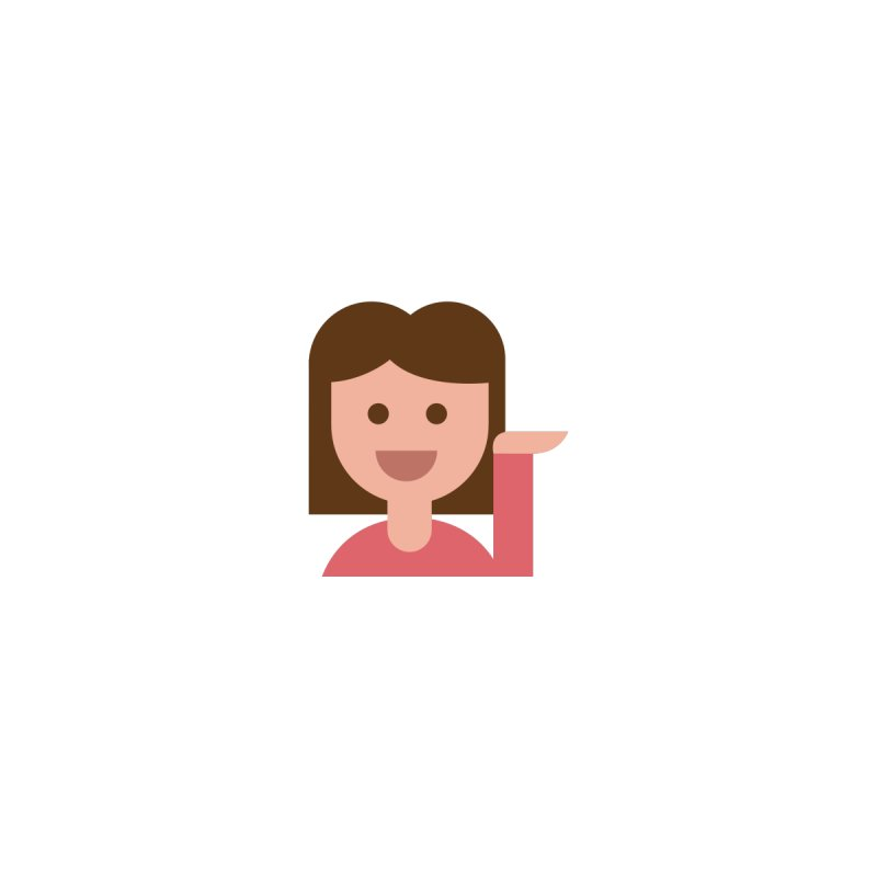 Information Desk Person by emoji's Artist Shop