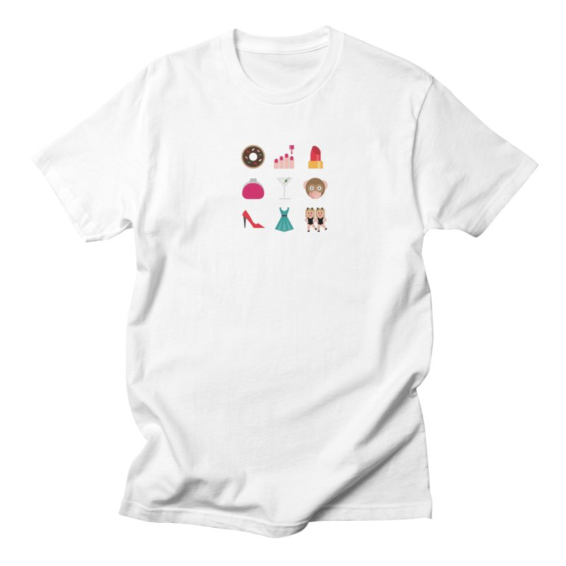 Ladies' Night Men's Regular T-Shirt by emoji's Artist Shop