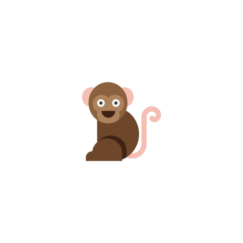 Monkey by emoji's Artist Shop