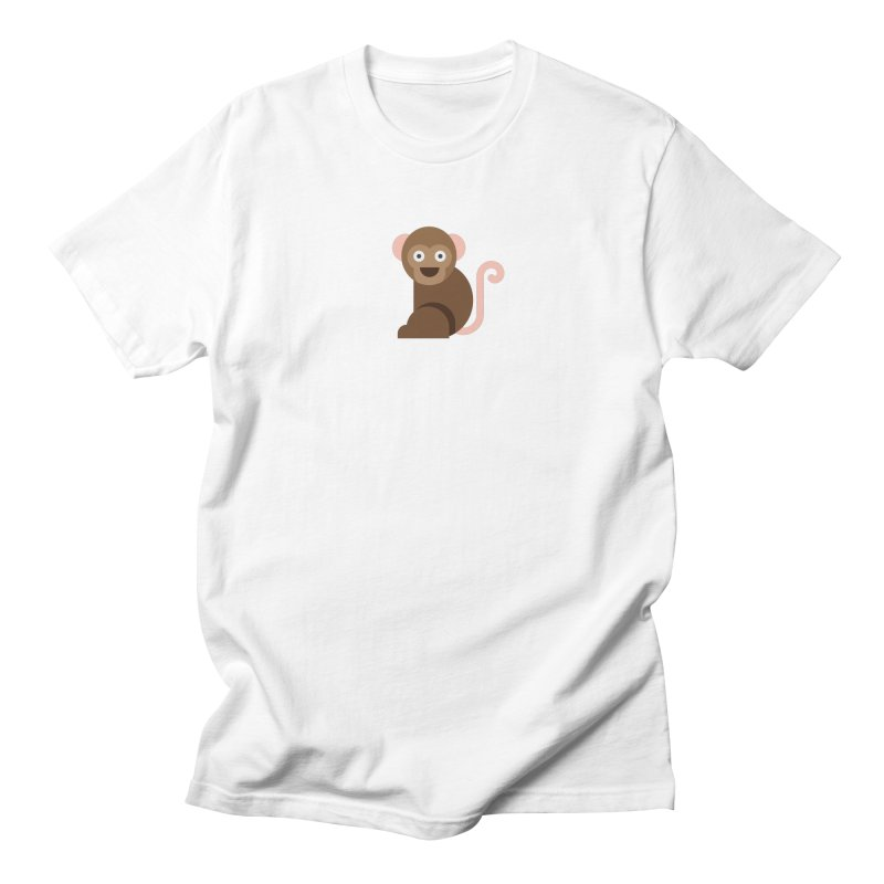 Monkey Men's Regular T-Shirt by emoji's Artist Shop