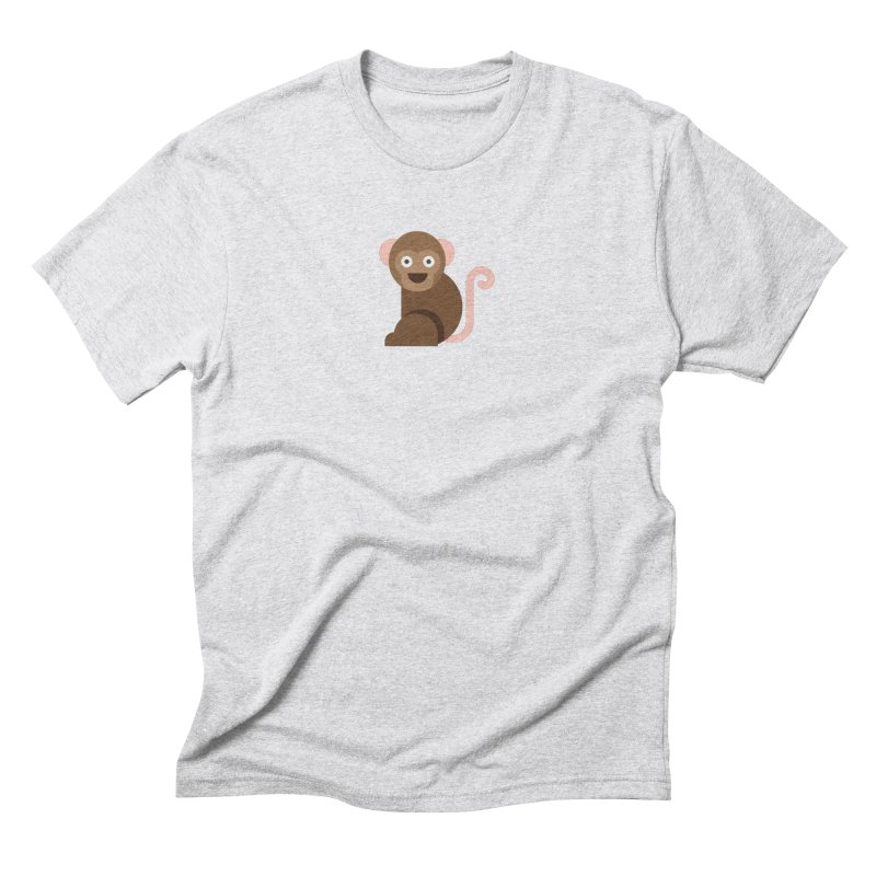Monkey Men's Triblend T-Shirt by emoji's Artist Shop