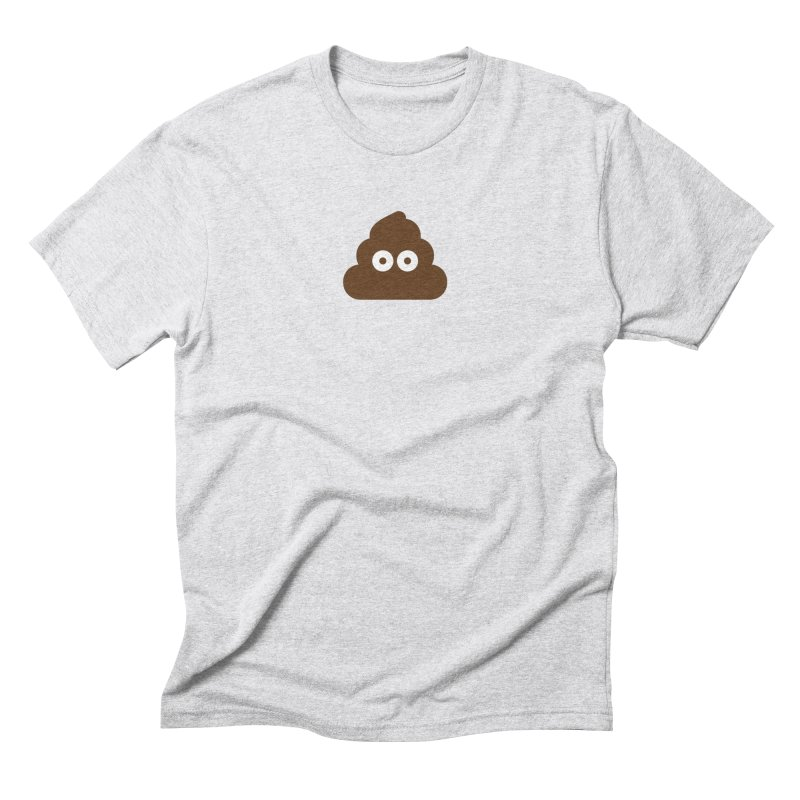 Pile of Poo Men's Triblend T-Shirt by emoji's Artist Shop