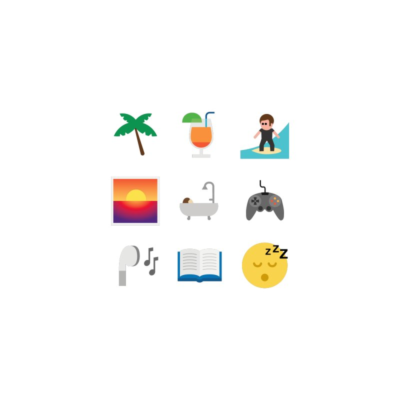 Relax None  by emoji's Artist Shop
