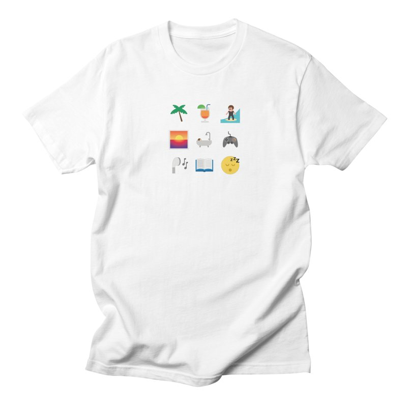 Relax Men's Regular T-Shirt by emoji's Artist Shop