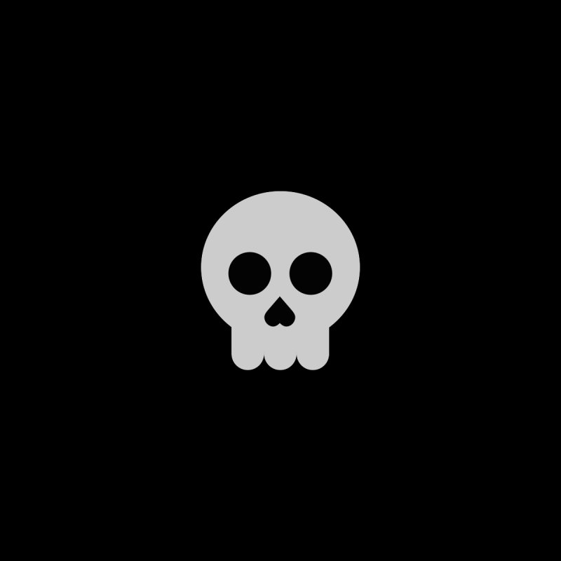 Skull None  by emoji's Artist Shop