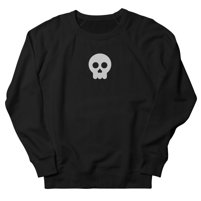 Skull Men's French Terry Sweatshirt by emoji's Artist Shop